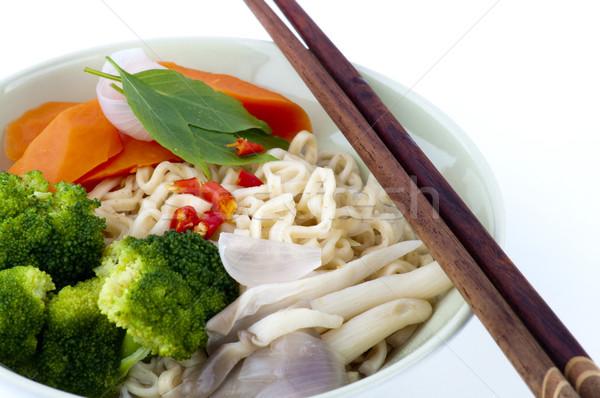 Ramen japanese alimentare salute asian Foto d'archivio © szefei