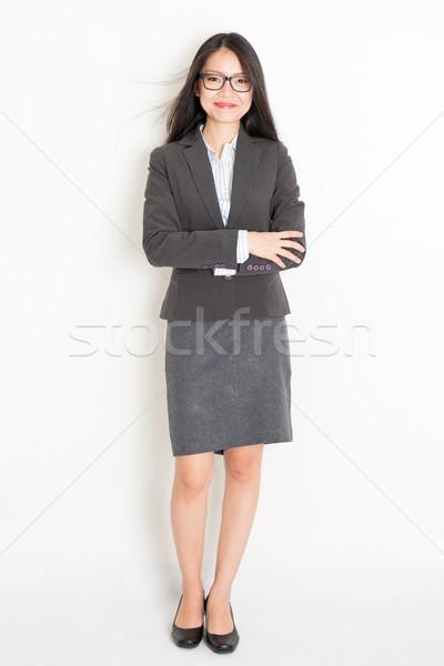 Portrait of Asian businesswoman  Stock photo © szefei