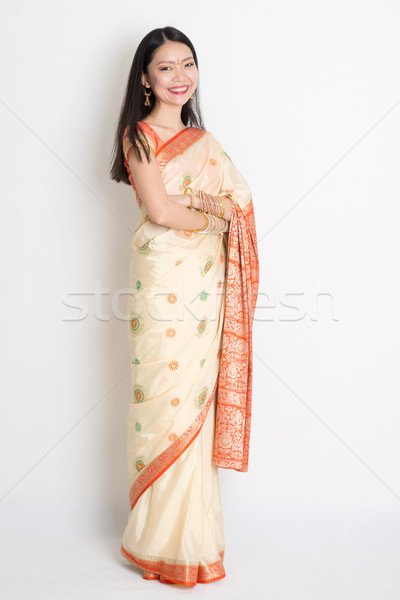 Confident Indian female  Stock photo © szefei