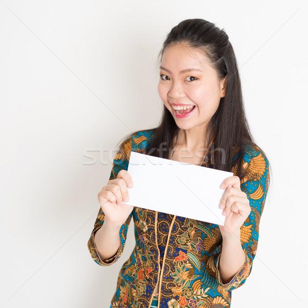 юго-восток азиатских женщины стороны белый Сток-фото © szefei
