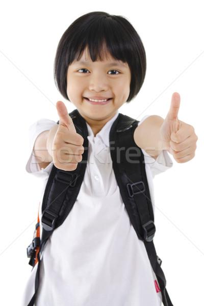 Thumbs up Stock photo © szefei