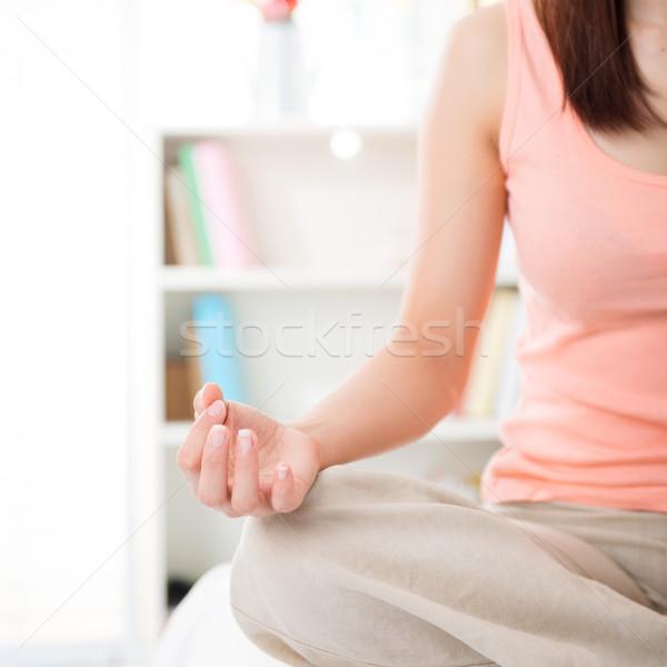 медитации стороны жизни Сток-фото © szefei