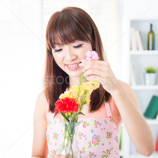 Arrange flowers Stock photo © szefei