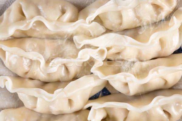 Popular Chinese Steamed Dumplings Stock photo © szefei