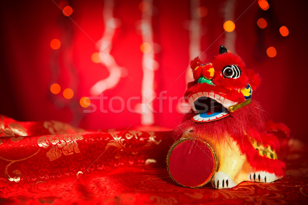 Stock photo: Chinese New Year or Spring Festival decorations