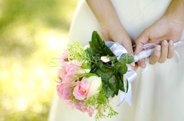 Bridal Bouquet Stock photo © szefei