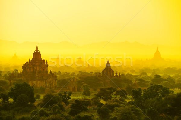 Bagan in Myanmar Stock photo © szefei