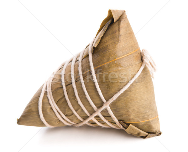 Chinese Sticky Rice Dumpling Stock photo © szefei