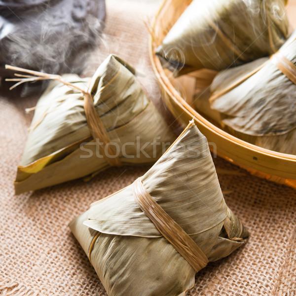 китайский риса традиционный горячей Сток-фото © szefei