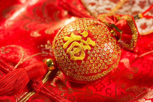 Good fortune bag Stock photo © szefei