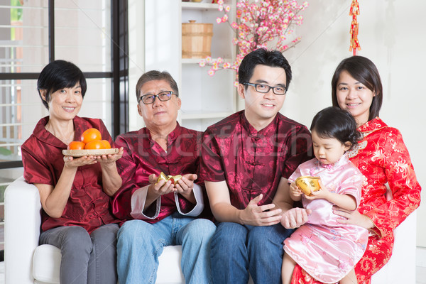 Chinese New Year spring seasons Stock photo © szefei