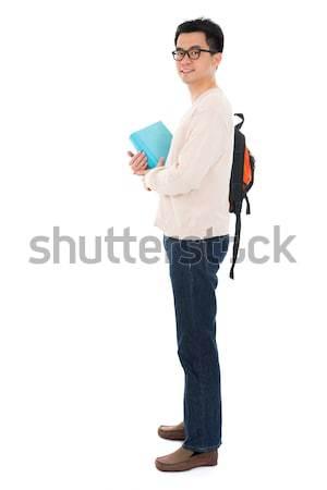 Asia adulto estudiante casual Foto stock © szefei