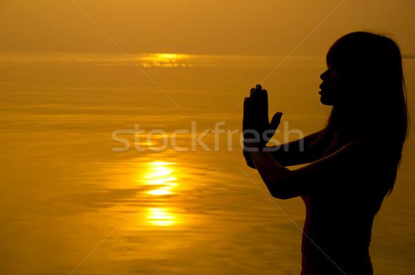 Prayer. Stock photo © szefei