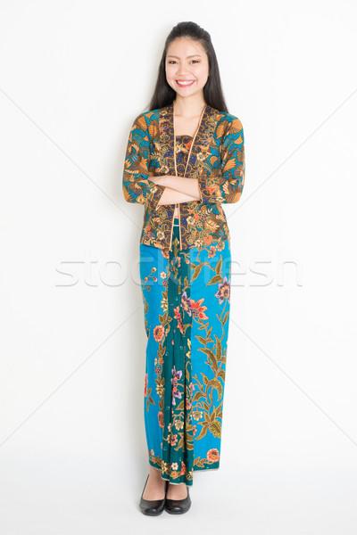 Asian female portrait Stock photo © szefei