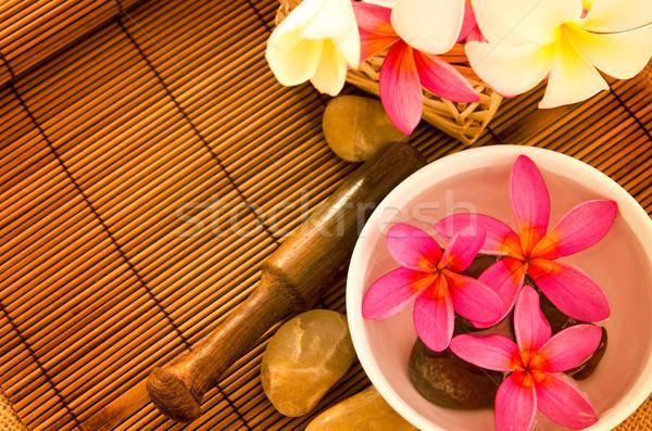 Tropical spa setting Stock photo © szefei