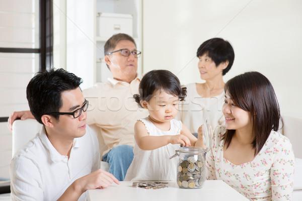 Money savings concept Stock photo © szefei