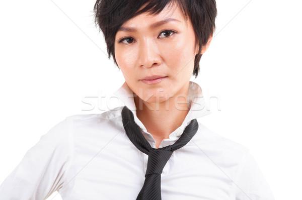 Asian Japanese Rock Girl Stock photo © szefei