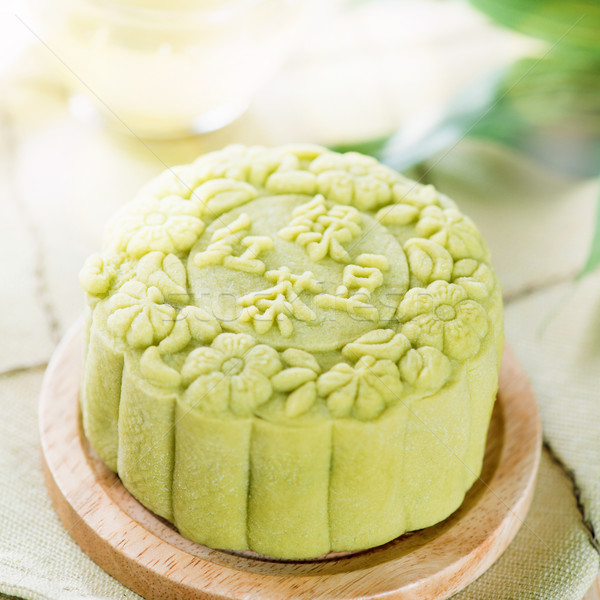 Tè verde tradizionale cinese autunno festival alimentare Foto d'archivio © szefei