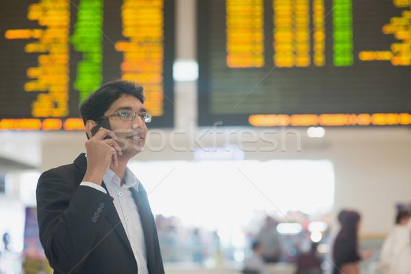 Business travel Stock photo © szefei