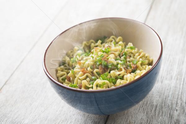 Dried noodles bowl Stock photo © szefei