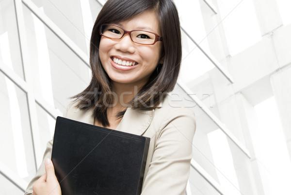образовательный деловые люди молодые азиатских женщины Сток-фото © szefei