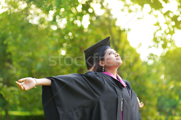 Graduation day Stock photo © szefei