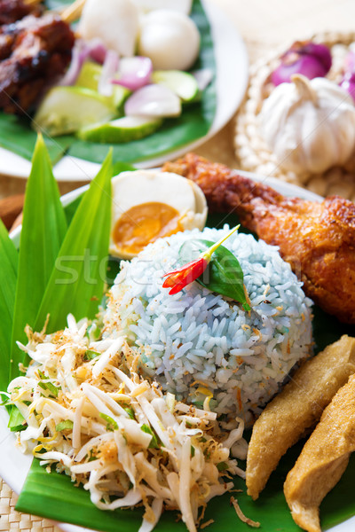 nasi ulam Stock photo © szefei