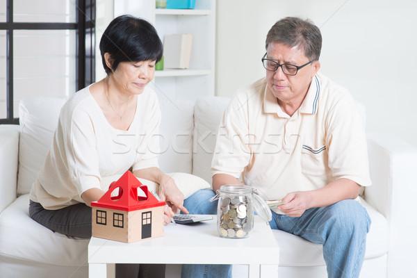 Retirement planning Stock photo © szefei