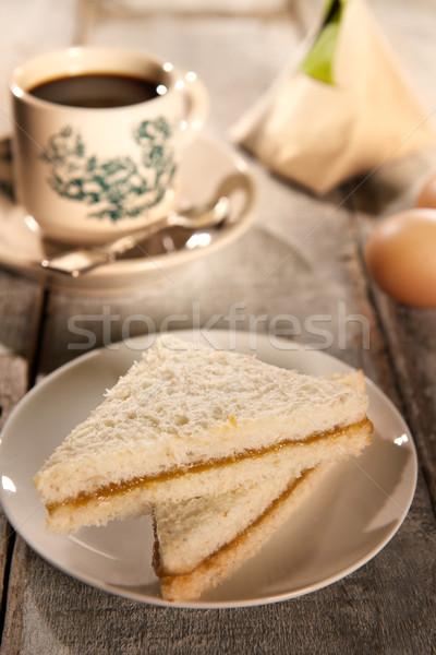Traditional Malaysian Chinese breakfast set Stock photo © szefei