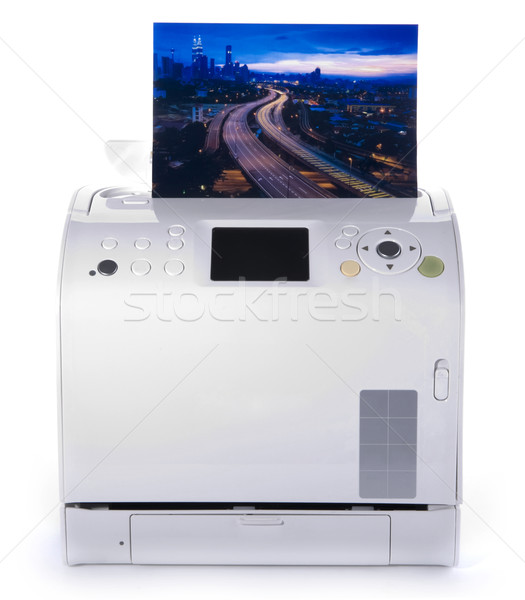 Photo Printer. Stock photo © szefei