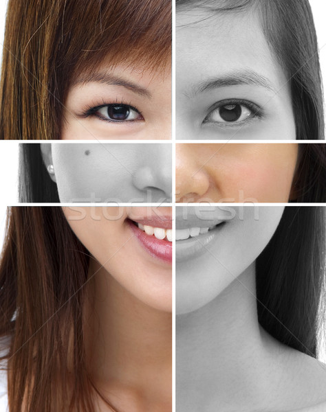 Plastic surgery concept Stock photo © szefei