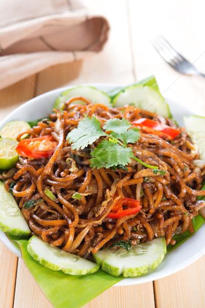Fried noodles Stock photo © szefei