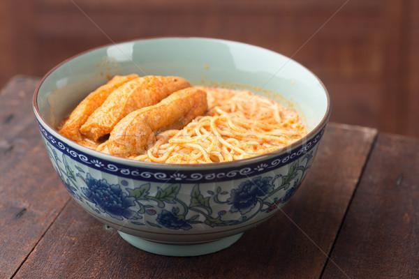 épicé étriller cuisine chaud Photo stock © szefei