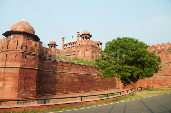 The Red Fort Stock photo © szefei