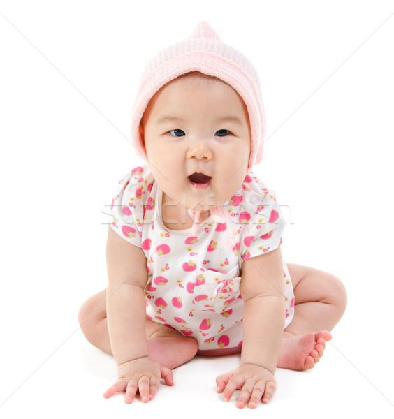 East Asian baby girl  Stock photo © szefei