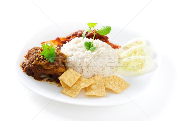 Nasi lemak Stock photo © szefei