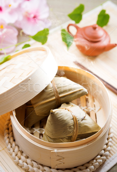 Rice dumpling Stock photo © szefei