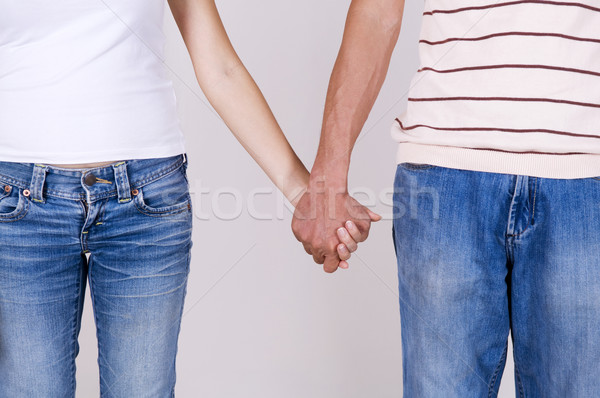 Holding Hands. Stock photo © szefei