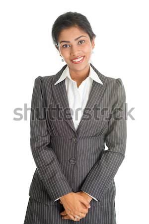 Portrait of black businesswoman  Stock photo © szefei