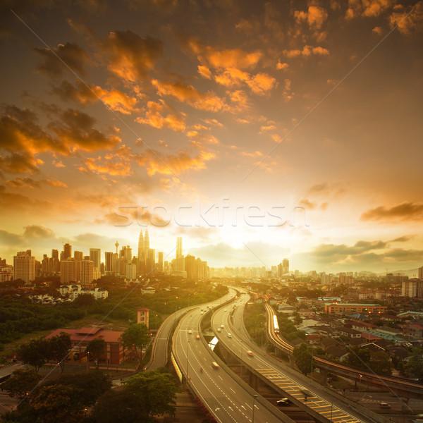 Kuala Lumpur landscape Stock photo © szefei