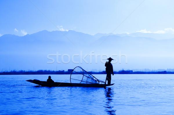 Inle Lake, Myanmar Stock photo © szefei