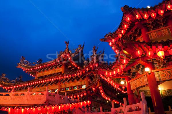 Buddhist temple Stock photo © szefei