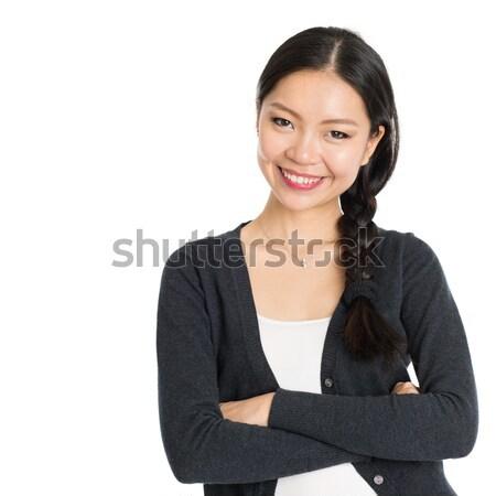 Young Asian girl Stock photo © szefei