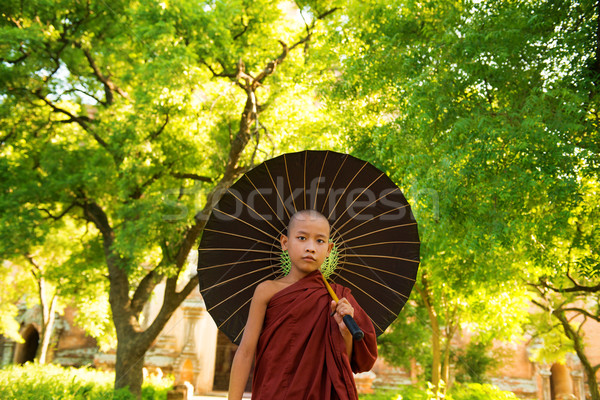 Buddhist monk  Stock photo © szefei