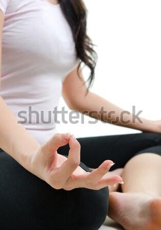 Yoga meditation Stock photo © szefei