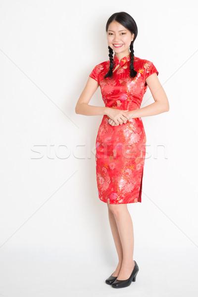 Asian chinese girl  Stock photo © szefei