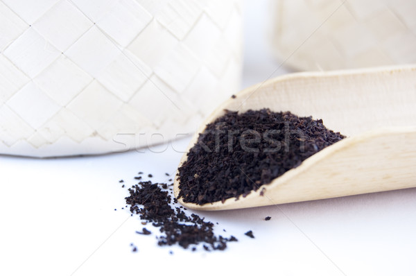 Dried Tea Leaves Stock photo © szefei