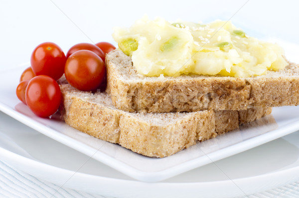 Healthy sandwich Stock photo © szefei