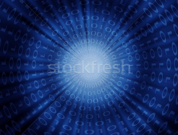 binary code concept Stock photo © szefei