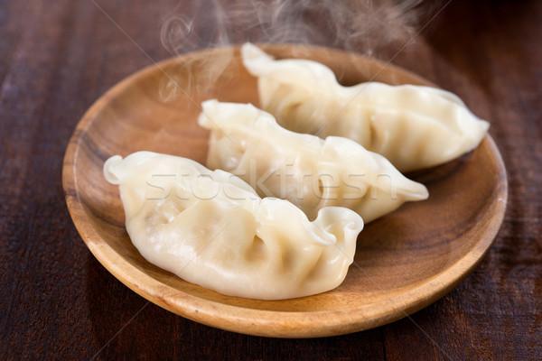 Delicious Chinese Gourmet Dumplings Stock photo © szefei